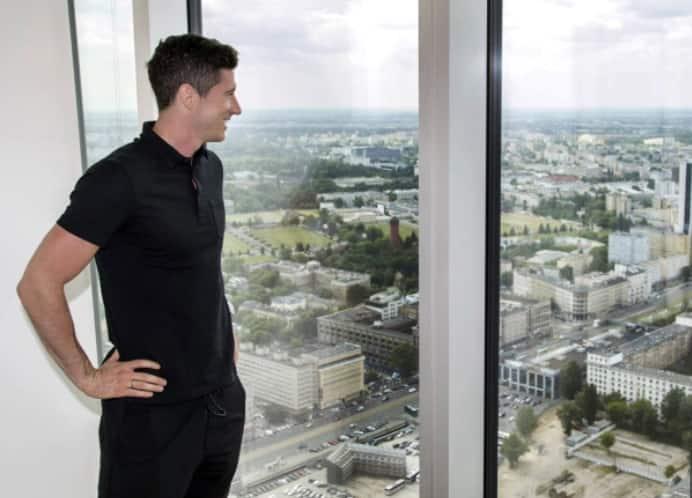 Robert Lewandowski owns stunning £7m apartment with varieties in Poland