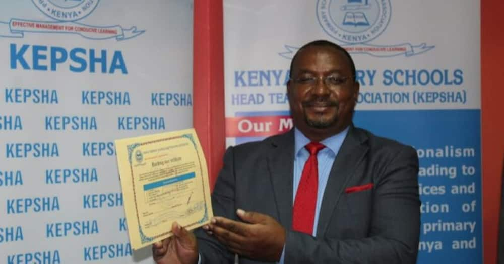 KEPSHA chair Johnson Nzioka.