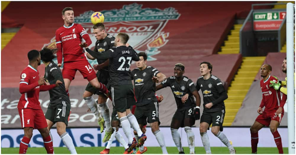Man United snatch point at Liverpool to cement place at the top
