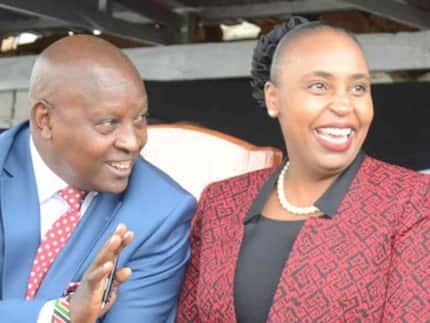 Gavana wa Nyeri Mutahi Kahiga akanusha madai kwamba alipigwa kwa glasi ya maji na naibu wake