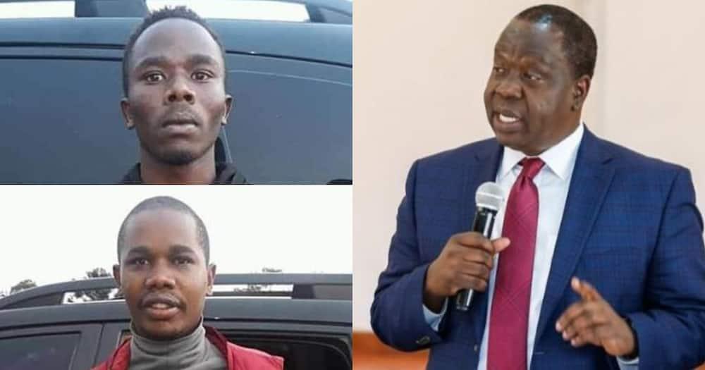 Hatujawahi kufa kwa kuchapishiwa habari feki, Oscar Sudi amwambia Matiang'i