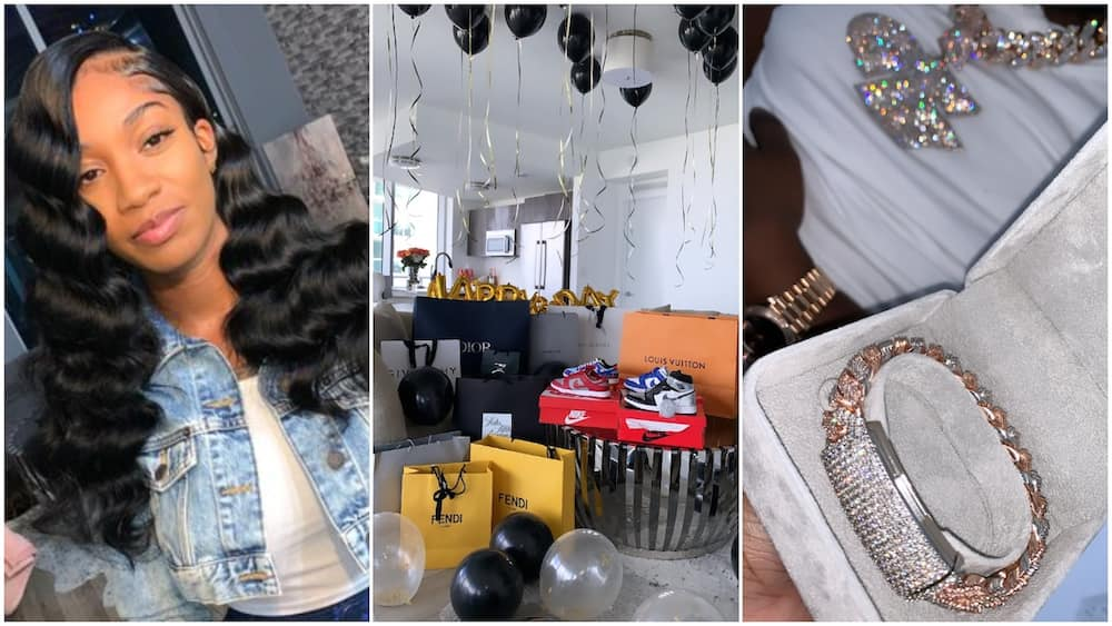 I Spoiled him the same way he Did to me - Lady Gifts Lover Boxes of Expensive Shoes, Diamonds on his Birthday