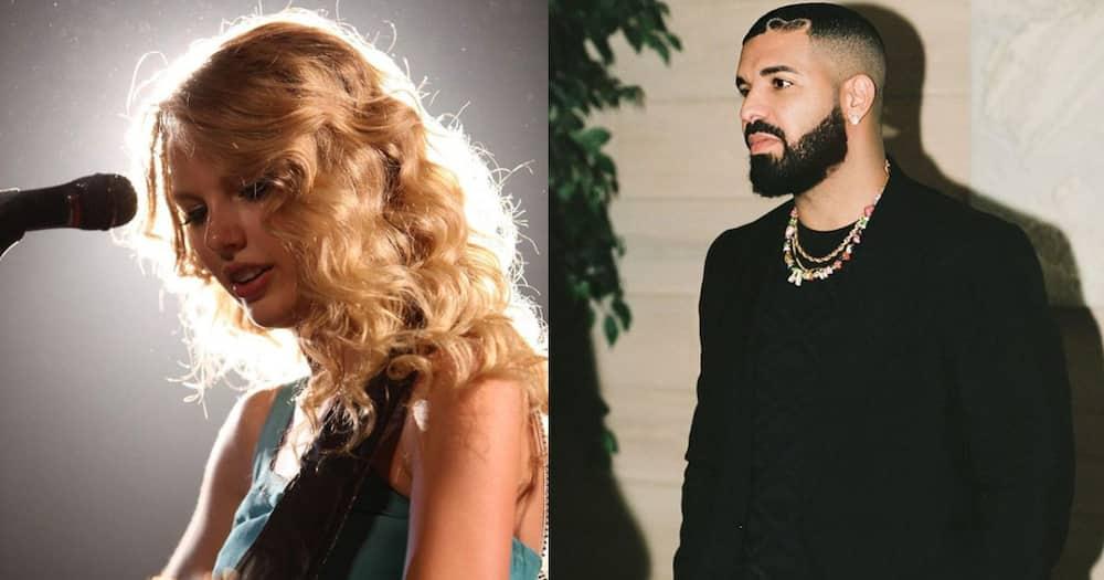 Taylor Swift and Drake.