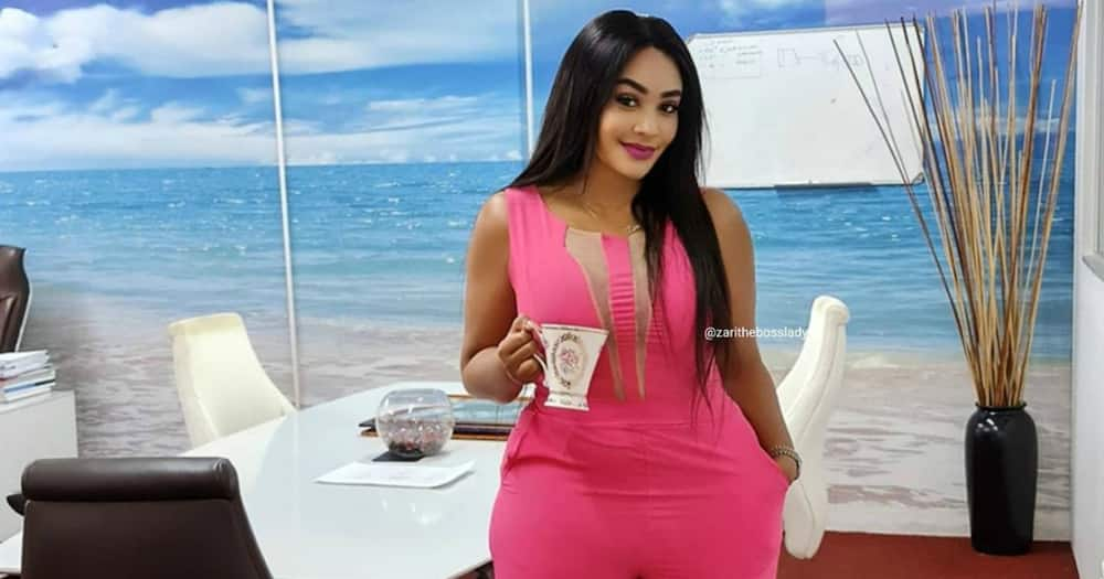 Zari Hassan travels to Zimbabwe to console late tycoon Ginimbi's grieving ex-wife