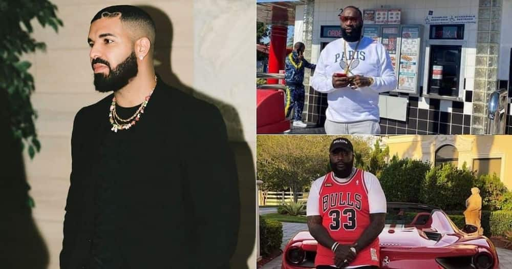 """Drake says Rick Ross, is the """"greatest"""", rapper alive"""