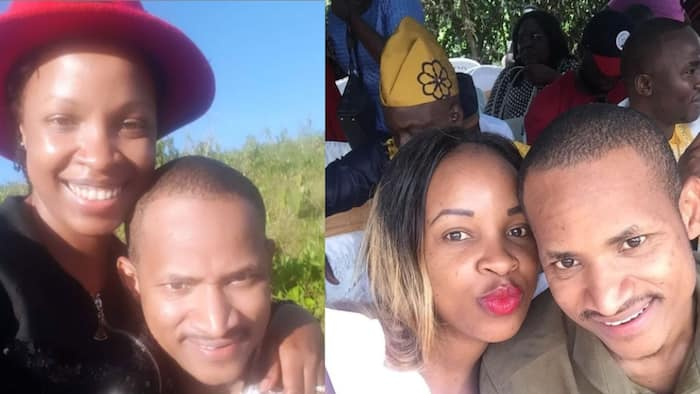 """Babu Owino's Wife Fridah Muthoni Pens a Romantic Letter to Him: """"I Love"""""""