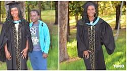 Kenyatta University: Lady who resumed high school at 32 finally graduates
