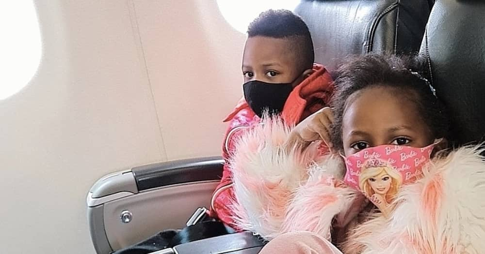Zari Hassan Spotted Arriving in Tanzania accompanied by Her, Diamond Kids