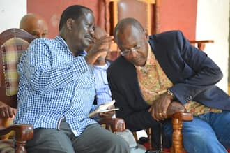 Little known President Uhuru's younger brother visits Bondo for the first time