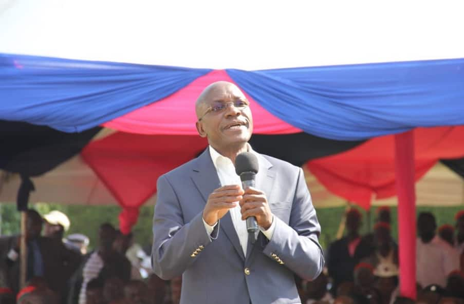 Boni Khalwale says Uhuru-Raila handshake will only benefit Luo community