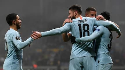 Chelsea striker Olivier Giroud sends Morata strong message for a place in Maurizio Sarri's starting XI