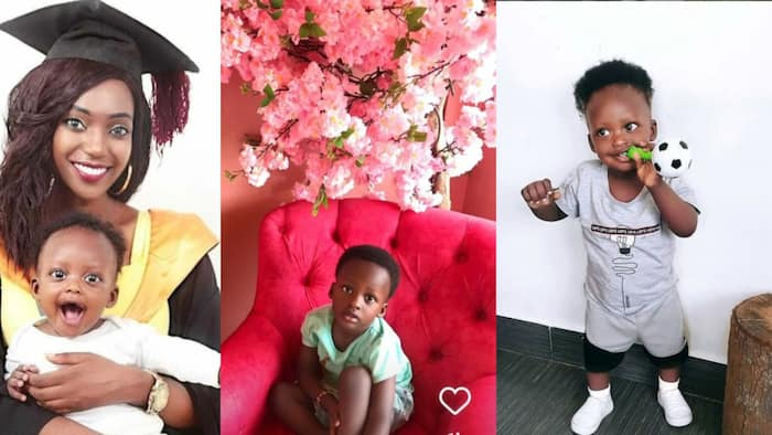 4 Awesome Photos of Khaligraph Jones' Ex-Girlfriend Cashy's Son