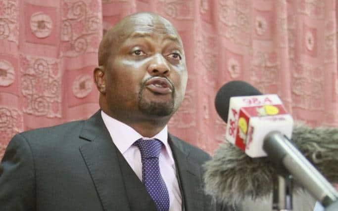 Moses Kuria threatens to sponsor impeachment motion against Speaker Justin Muturi