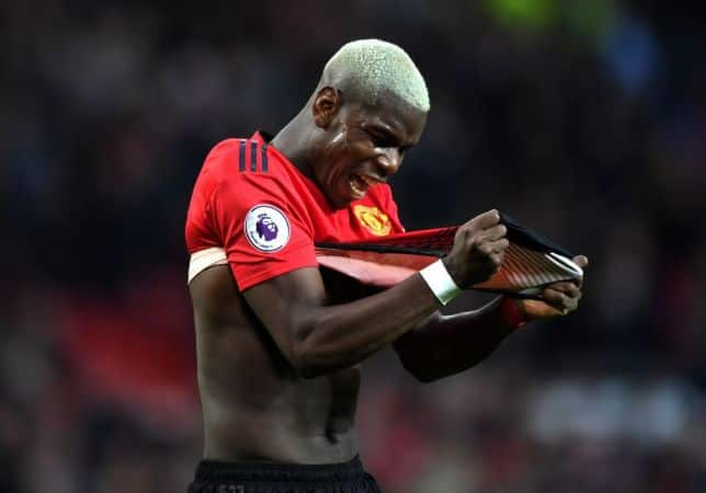 Paul Pogba left with nasty face injuries after he was 'destroyed' by Victor Lindelof