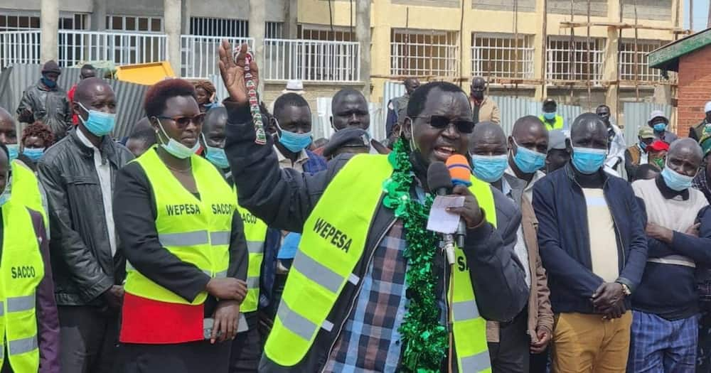 Lonyangapuo said he would form his own party ahead of 2022.