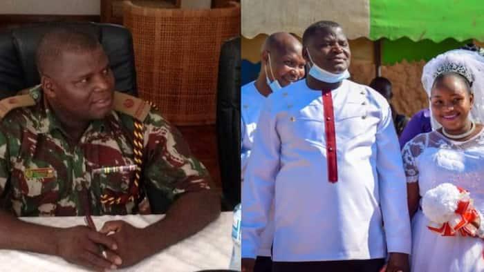 Nyawa Murinzi: Askari Aliyeangamizwa na COVID-19 Alifunga Ndoa ya Kufana Wiki 2 Zilizopita