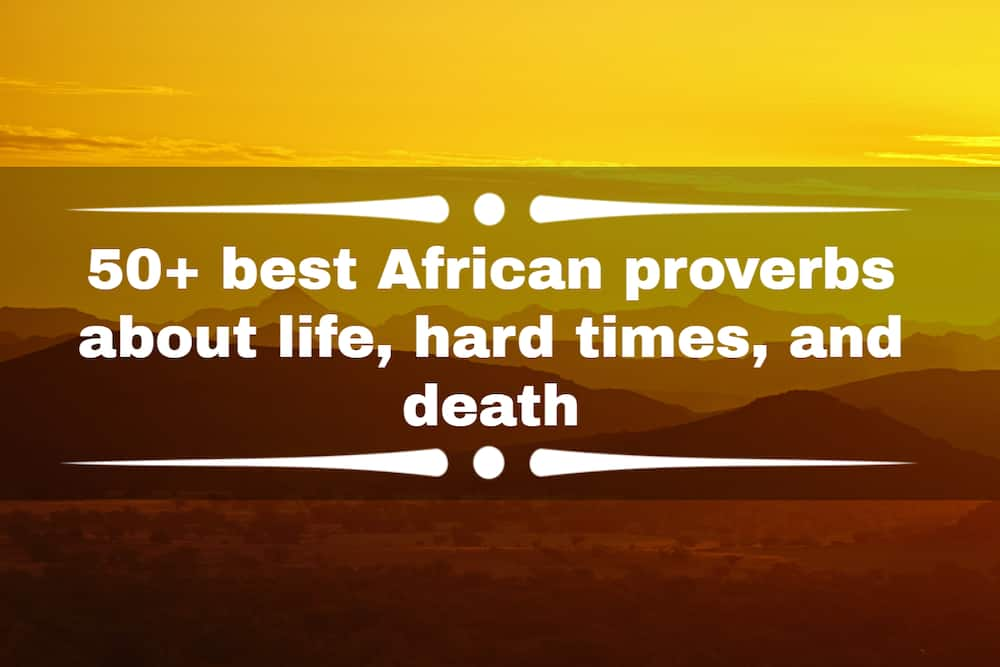African proverbs about life
