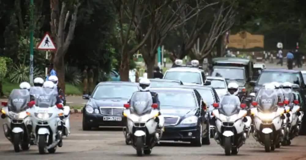 Presidential Escort Unit (PEU). Photo: Kenya Police.