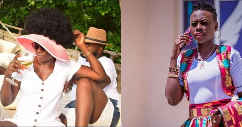 Akothee and Nelly Oaks.