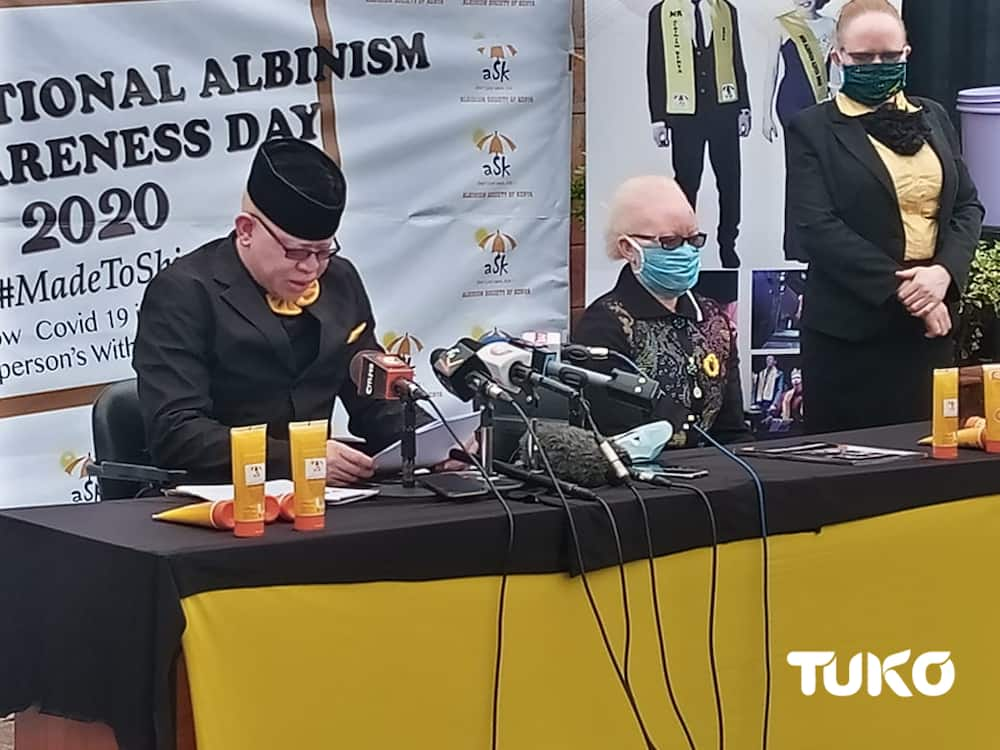 Senator Mwaura says death of people living with albinism has spiked over claims they've COVID-19 cure