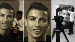 Massive Reactions as Artist Spends 75 Hours Drawing Cute Portrait of Cristiano Ronaldo
