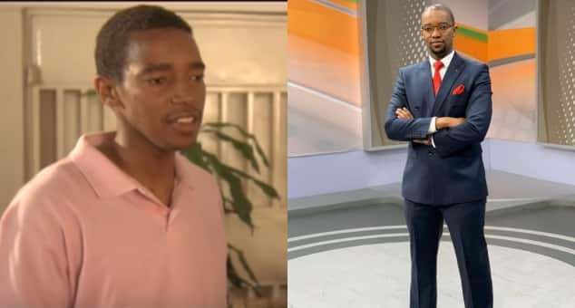 Photos of anchor Waihiga Mwaura's forgotten days as young, lanky actor in local TV series emerge ▷ Kenya News