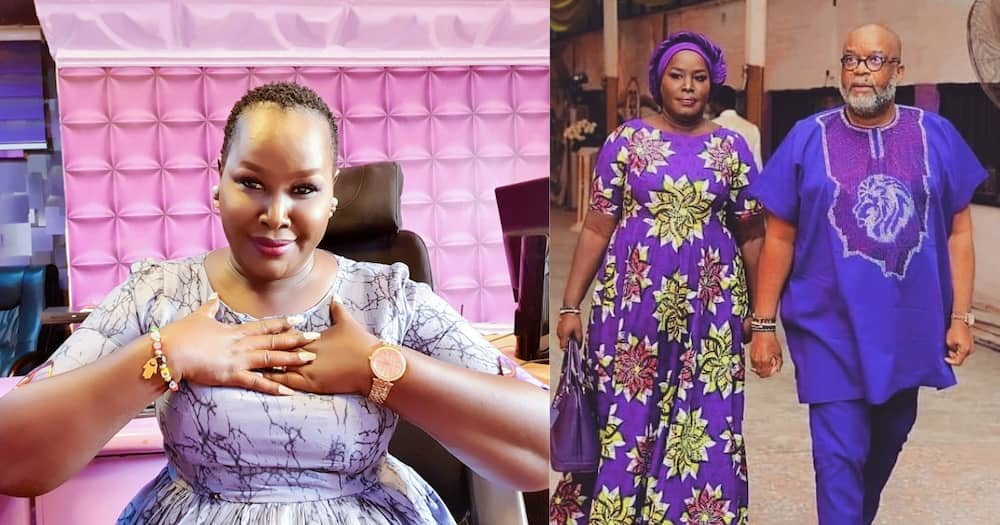 Emmy is married to a Nigerian pastor called Anselm Madubuko, who is 22 years her senior.