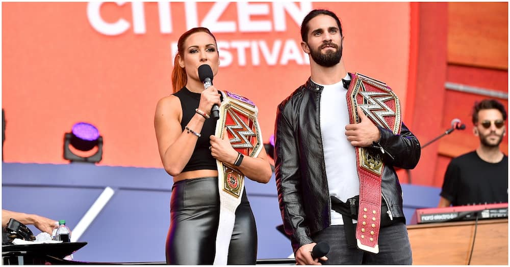 WWE's Becky Lynch, Seth Rollins announce birth of first child