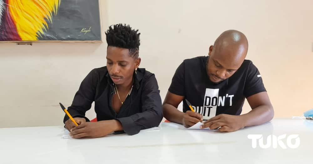 Exclusive: Comedians Jalang'o, Eric Omondi spotted entering into new deal