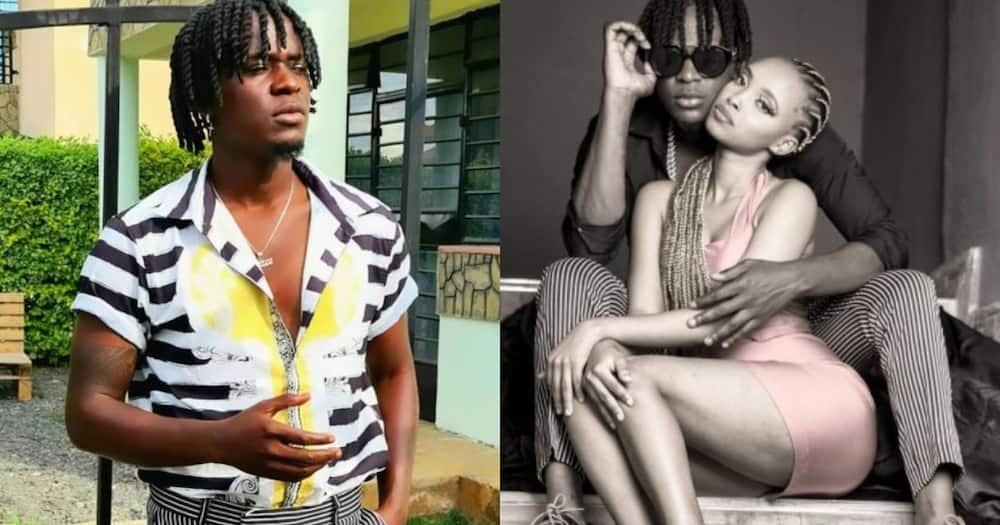 """Willy Paul posts photo with peng chic: """"We look for love in the wrong places"""