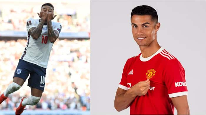 Man United Star Pulls Ronaldo's Famous Siuu Celebration After Scoring In World Cup Qualifier