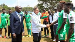 Gor Mahia shopping for coach after warning Brazilian Oliveira Goncalves is unqualified to sit in dugout