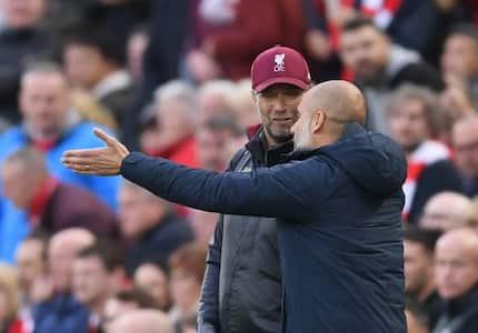 Pep Guardiola sends strong warning to Jurgen Klopp as Premier League title race heats up