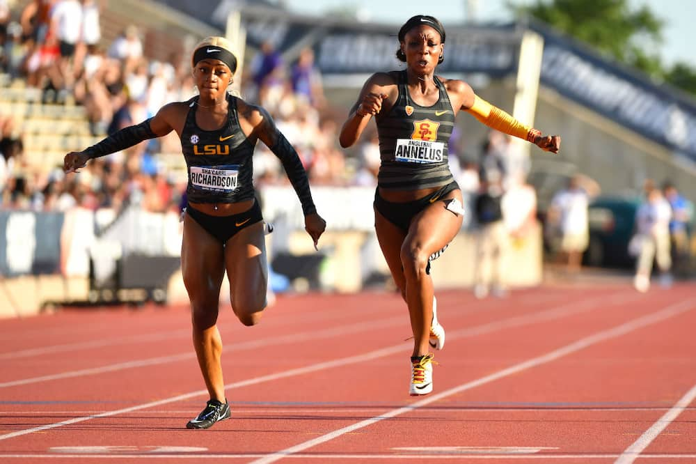 Fastest woman in the world