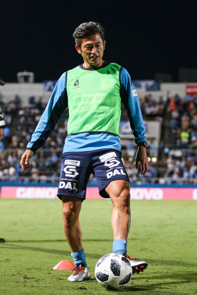 Oldest footballer in the world 51-year-old Kazuyoshi Miura signs new deal with Yokohama FC