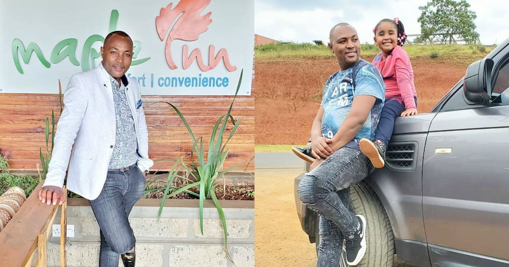 Daddy-daughter moment: Radio presenter Muthee Kiengei shows off gorgeous daughter