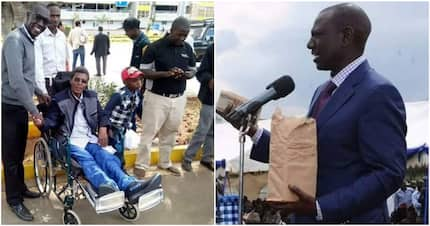 Nakuru man thanks Ruto for contributing KSh 1 million to aid his treatment in India