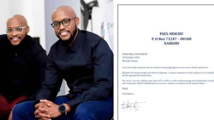 Eddie Ndichu, Twin Paul Release Joint Statement on Fight with Women, Call It Embarrassing and Unfortunate