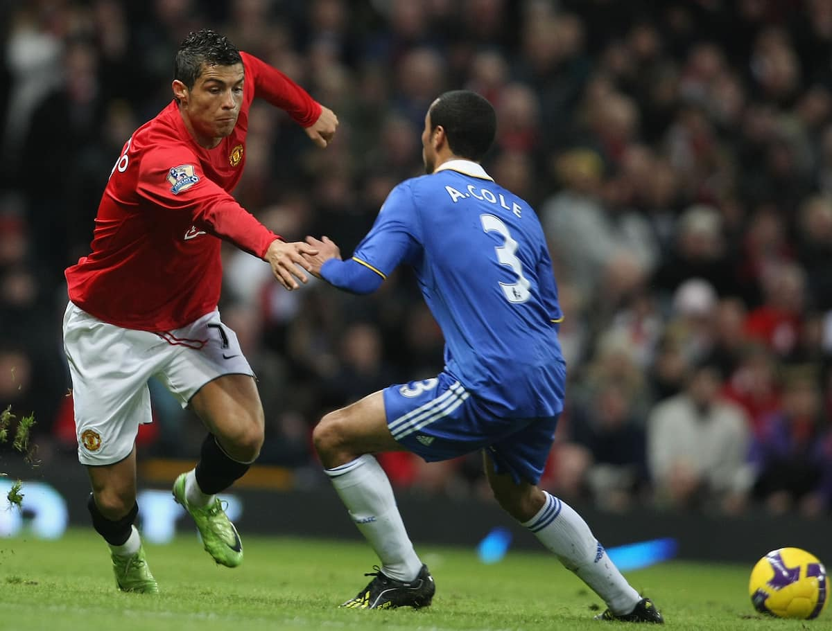 Ronaldo says Ashley Cole was the most difficult defender he faced
