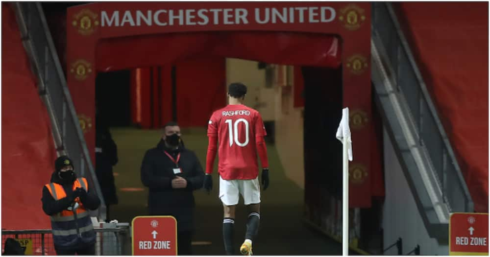 Man United blow as Ole confirms Rashford suffered knee injury vs Liverpool