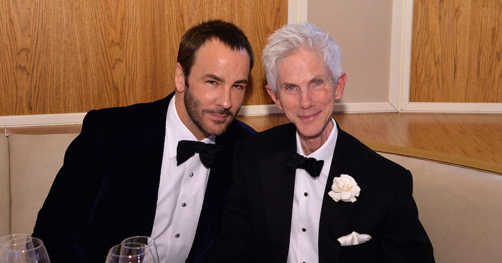 Tom Ford and Richard Buckley.