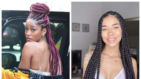 15 celebrities with box braids to inspire your next look