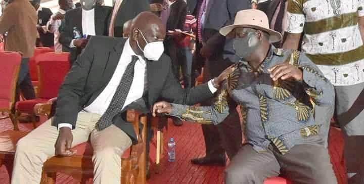 Kakamega: Wewe ni mwanafunzi wa Raila kisiasa, DP Ruto aambiwa