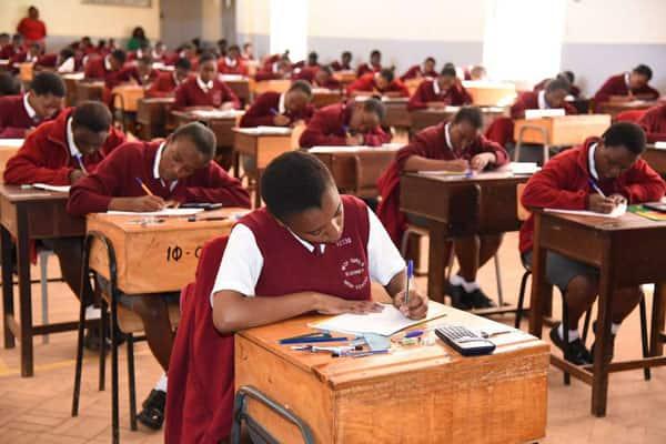 KCSE examination timetable