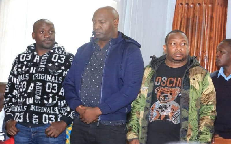 Mbunge Simon Mbugua ahojiwa kuhusu njama ya kuzua rabsha mahakamani