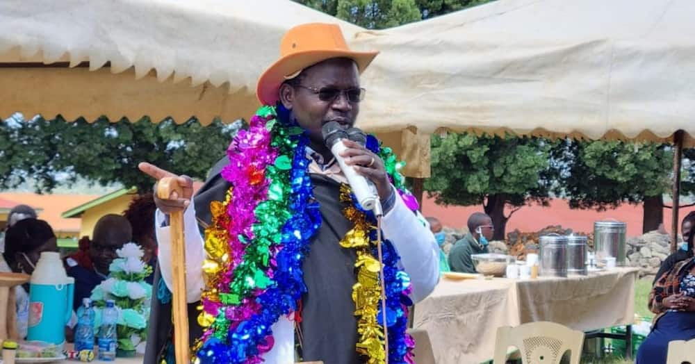 West Pokot Governor John Lonyangapuo. Photo: John Lonyangapuo.