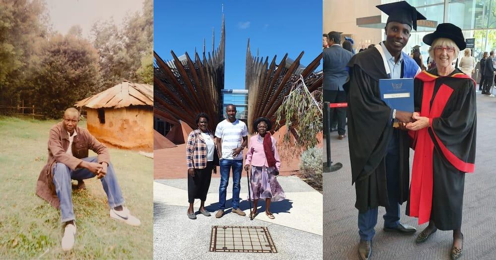 Alfred Koech: Kenyan in Australia Attributes Achievements to Mother, Grandma