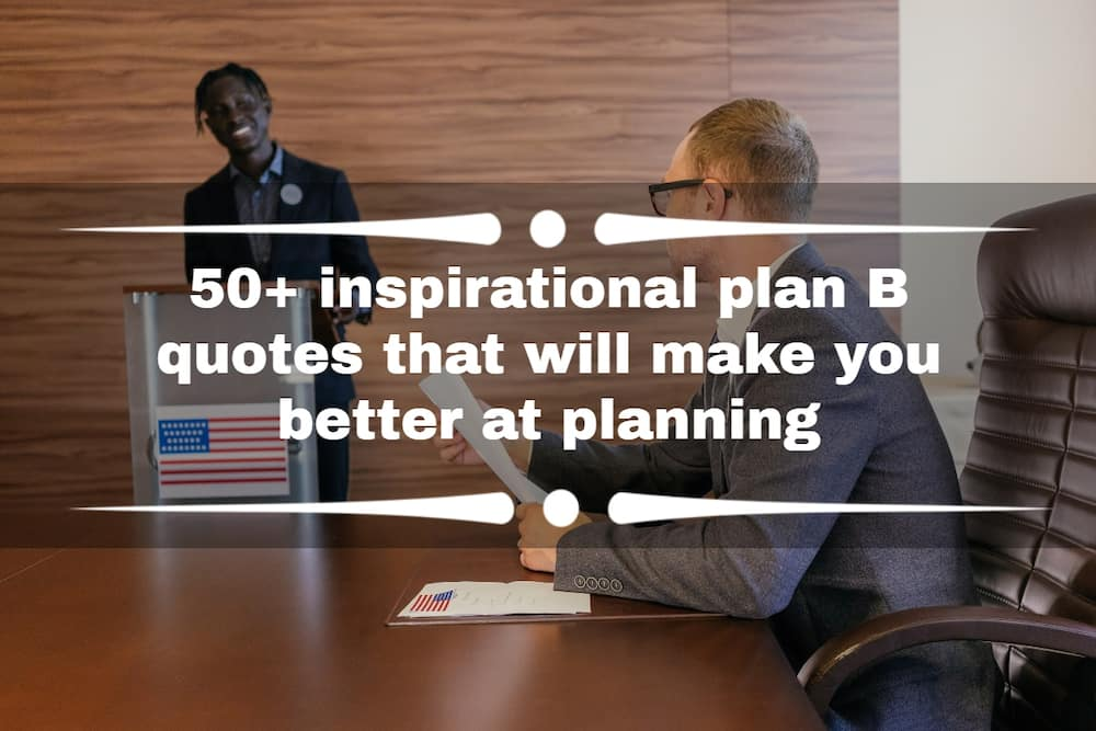 Plan B quotes
