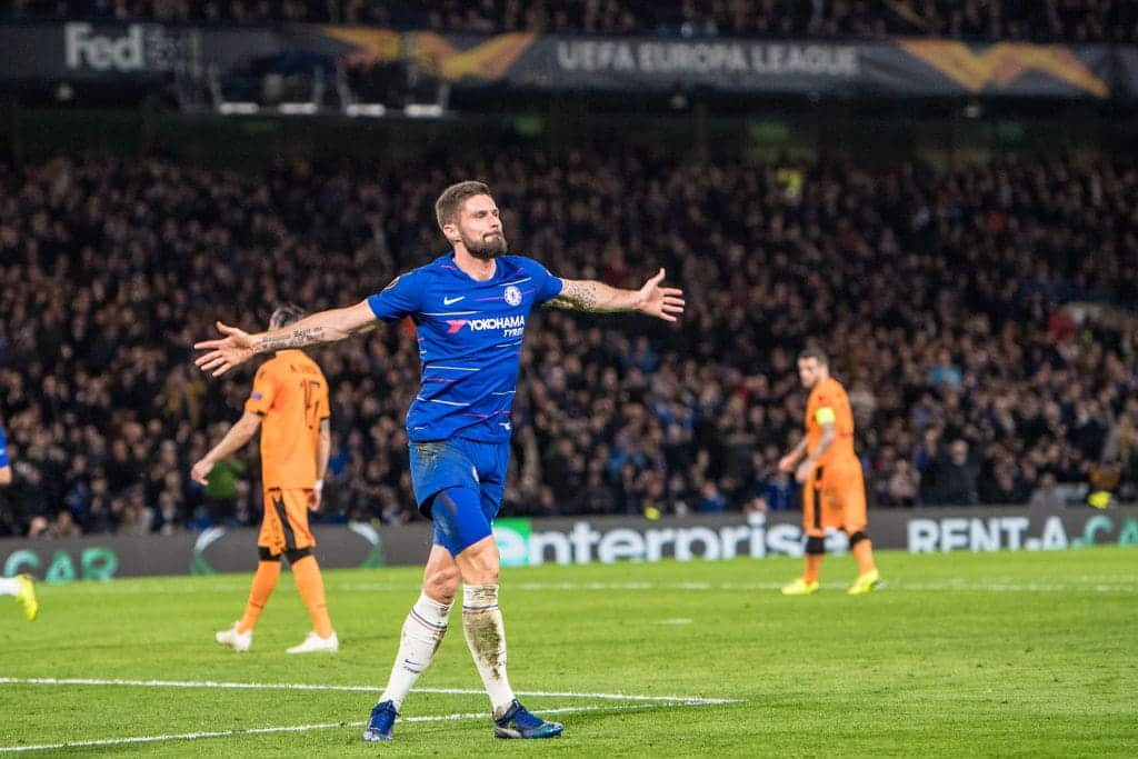 Europa League: Chelsea destroy 10-man PAOK 4-0 at Stamford Bridge