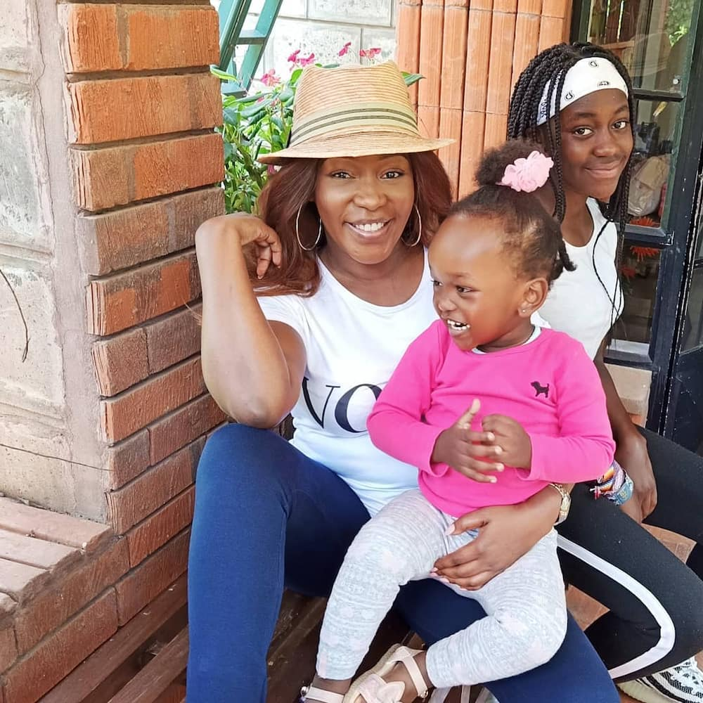 """Terryanne Chebet in stitches after discovering her daughter has saved her number as """"household CEO"""""""